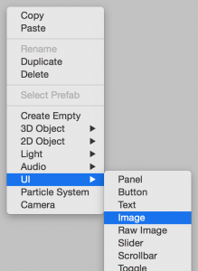 Creating an image UI component